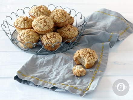 [Sweet Saturday] herbstliche Apple Crumble-Muffins
